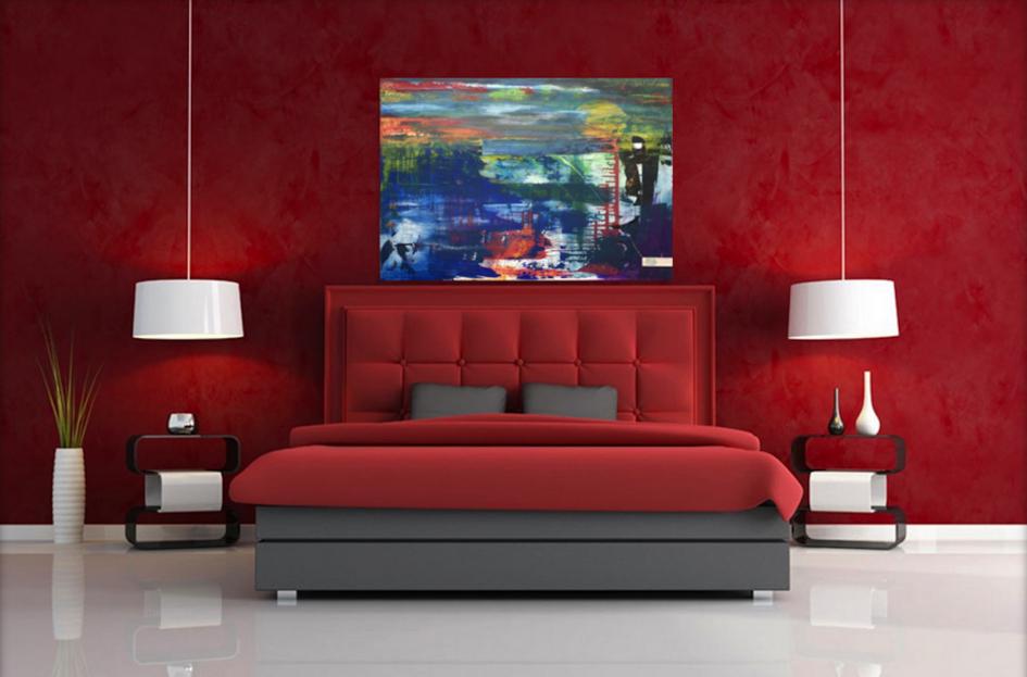 Mehr Meer - artwork on wall in living room