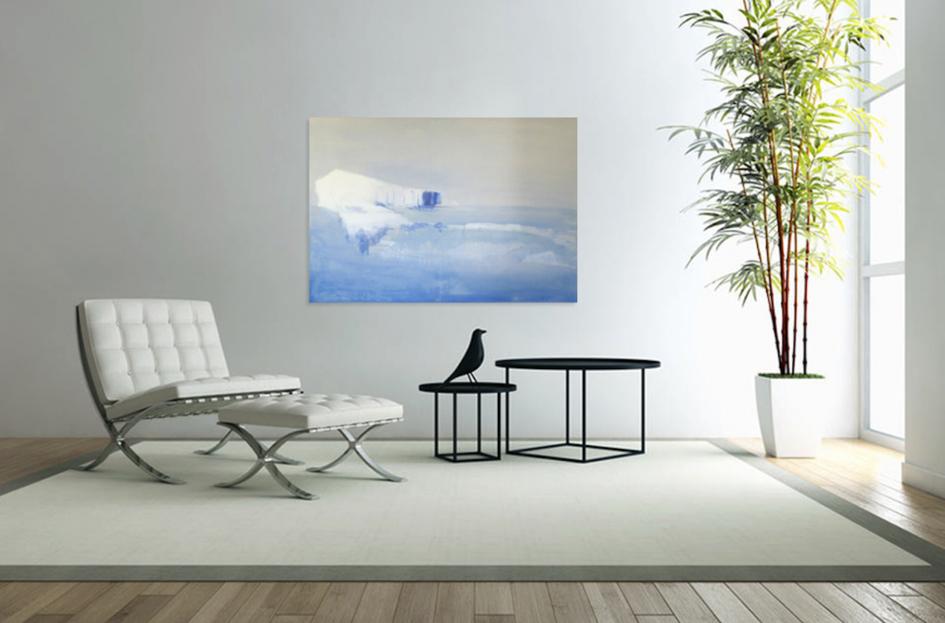 """Seeko'o"" - artwork on wall in living room"